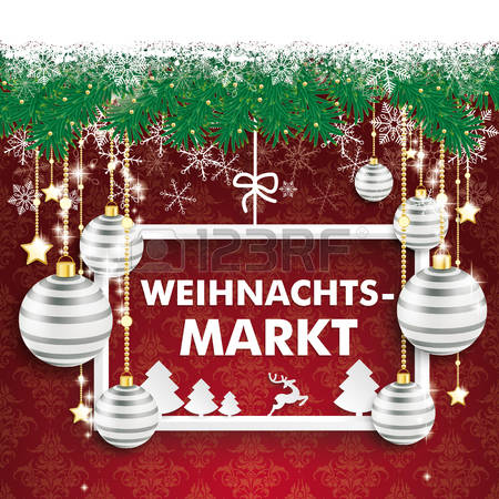 22,166 Christmas Market Stock Vector Illustration And Royalty Free.