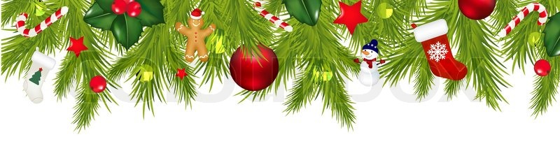 Clipart weihnachten girlande kostenlos 5 » Clipart Station.