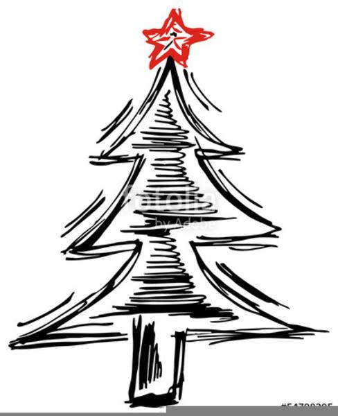 Bild Weihnachtsbaum Clipart.