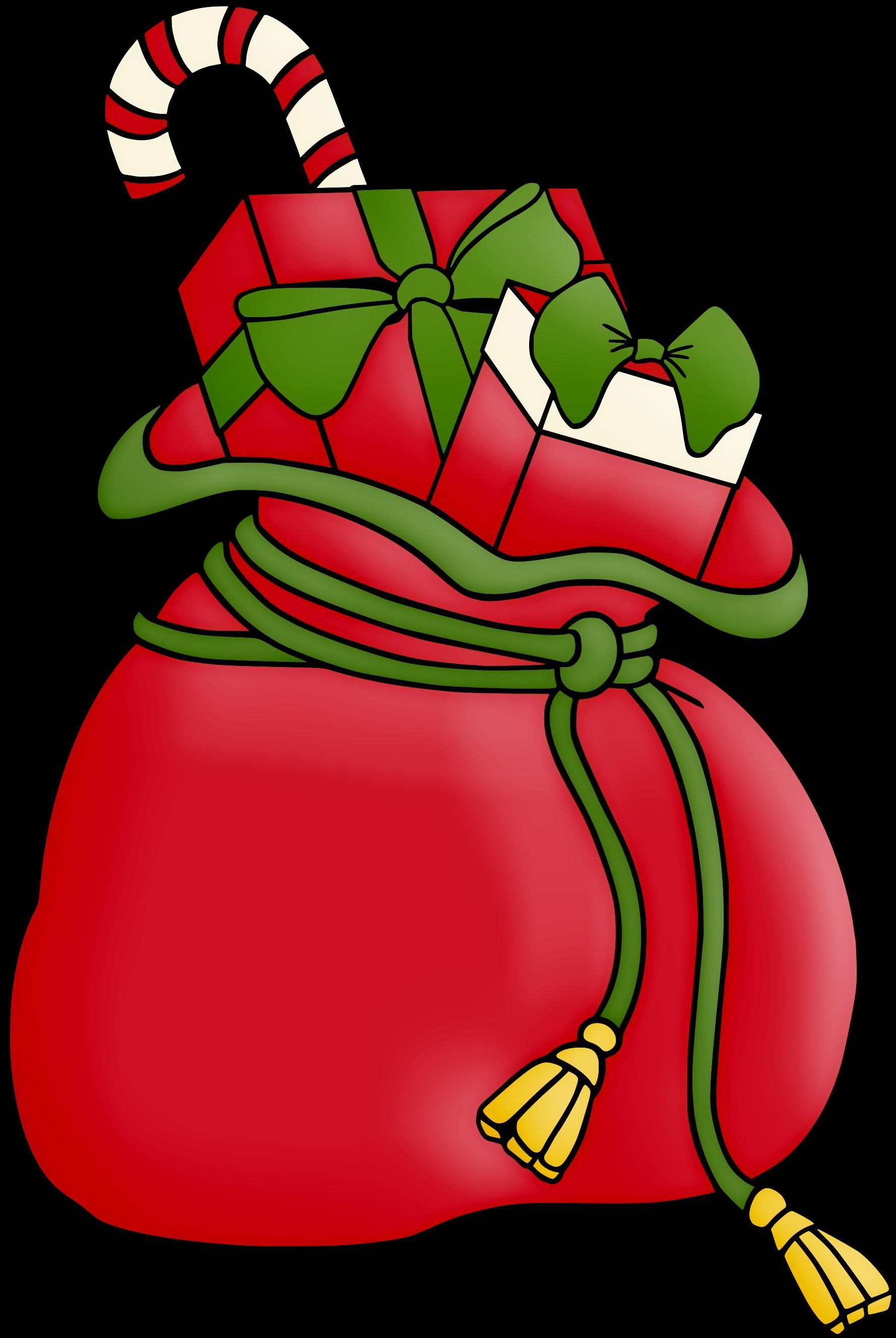 Christmas Sack Clip Art.
