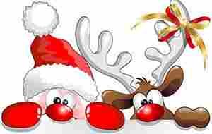 10000+ Cliparts: Traumhafte Weihnachten Clipart.