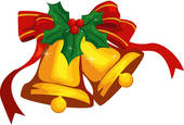 Clip Art of decoration, whirechristmas, wreath, winter, seasons.