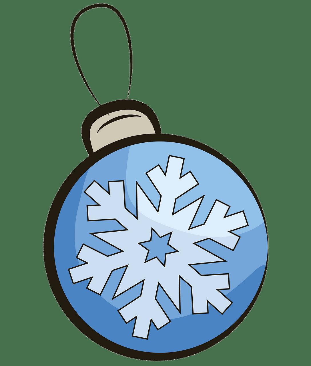 Weihnachtskugel clipart. Kostenloser Download..