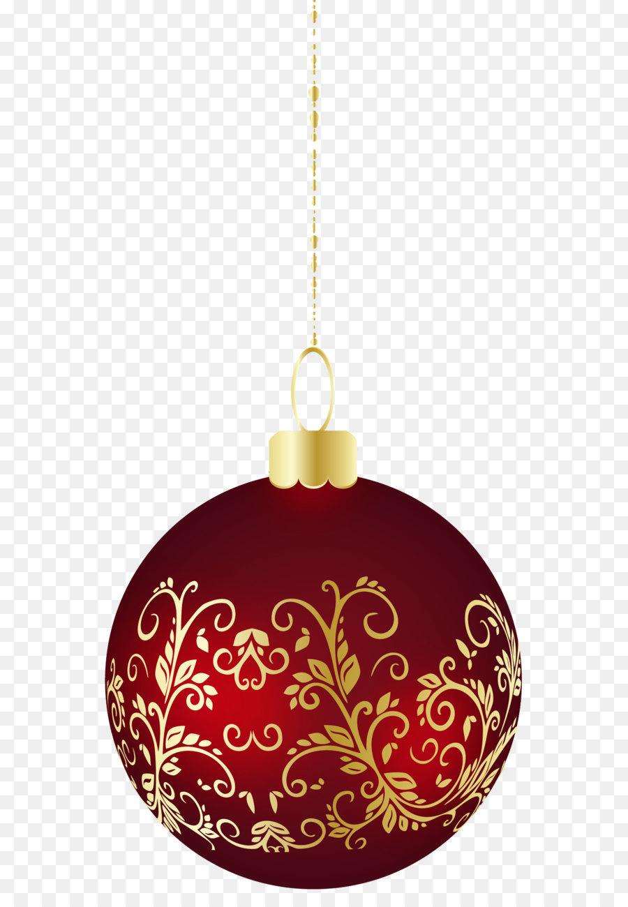 Große Transparente weihnachtskugel PNG Clipart png.
