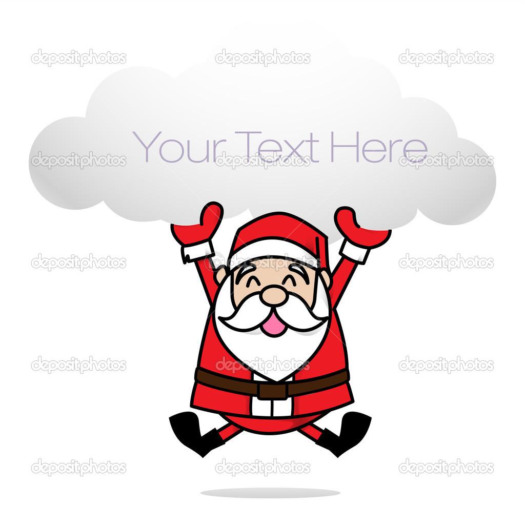 Weihnachtsmann ClipArt — Stockfoto © thekaikoroez #37320171.