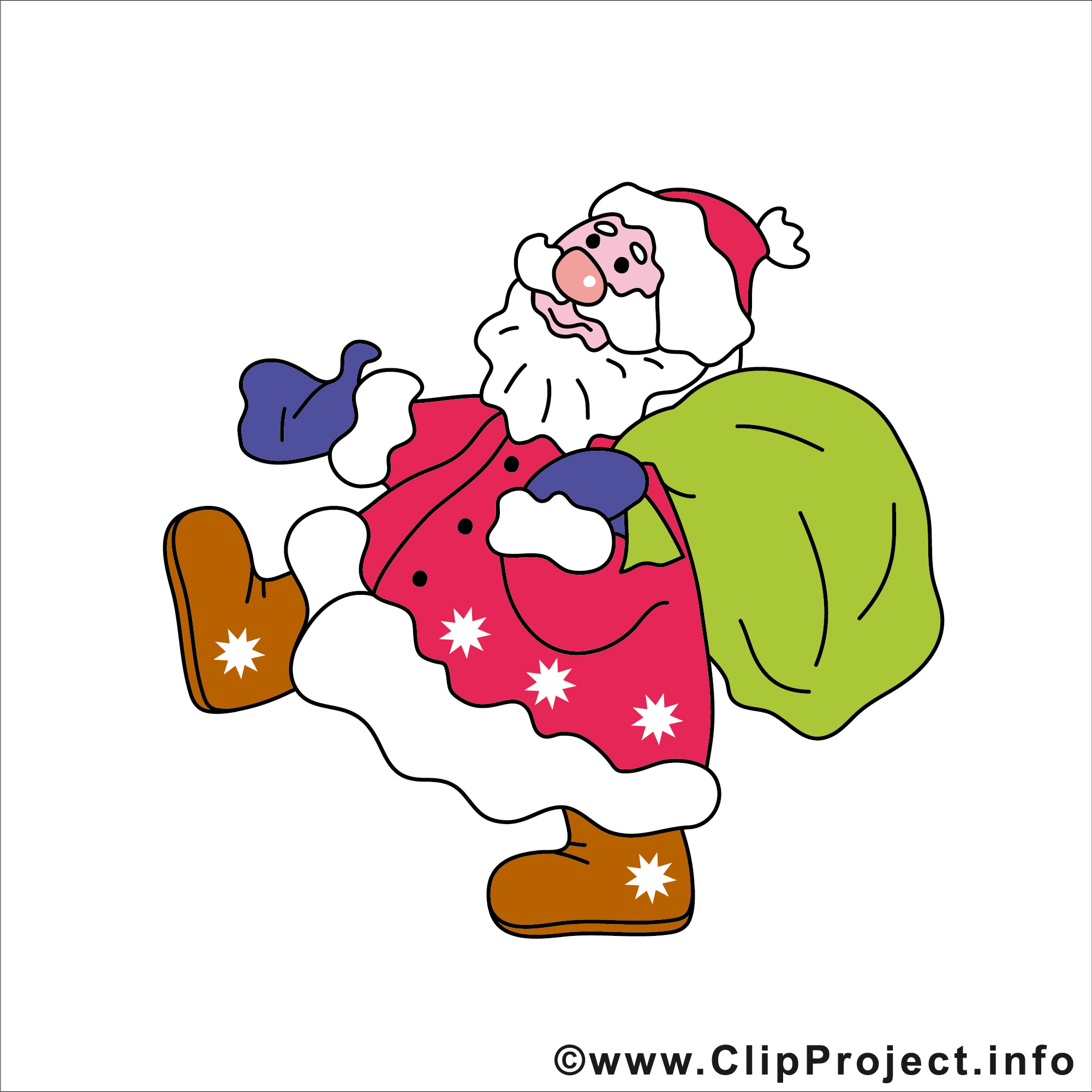 Weihnachtsmann clipart
