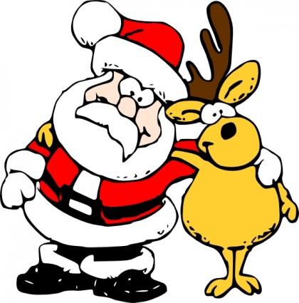 Weihnachtsmann clipart - Clipground