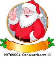 Weihnachtsmann Clip Art Illustrationen. 45.801 weihnachtsmann.