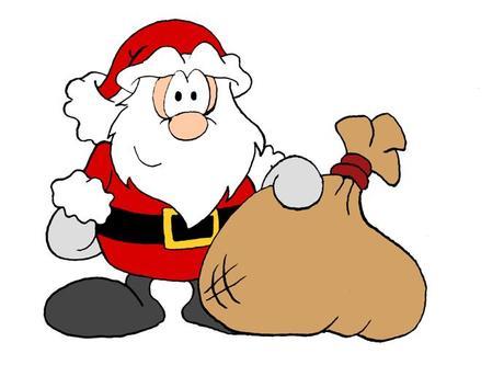 Weihnachtsmann Clipart Animiert.