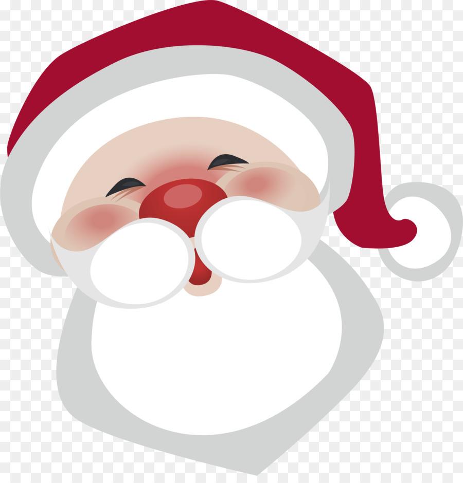 Weihnachtsmann BART.