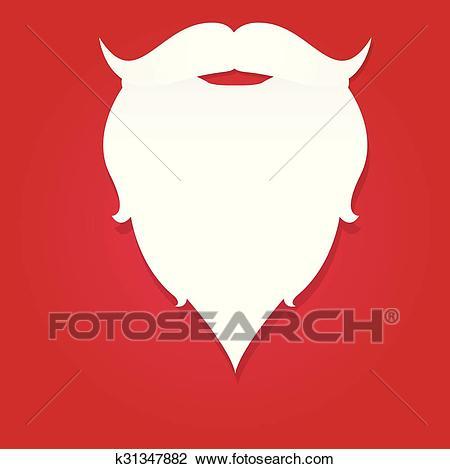 Weihnachtsmann bart clipart 1 » Clipart Station.