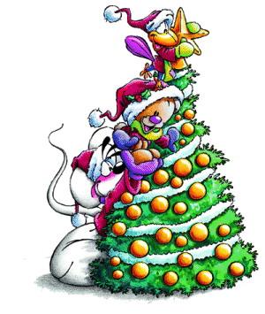 Diddl weihnachten Cliparts.