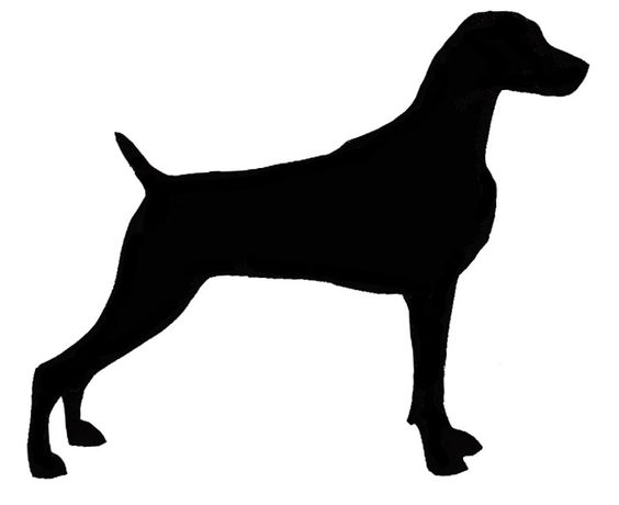 would love to make or order silhouettes of our dogs for the.