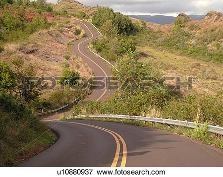 Picture of Waimea, Kauai, HI, Hawaii, Westside, Waimea Canyon.