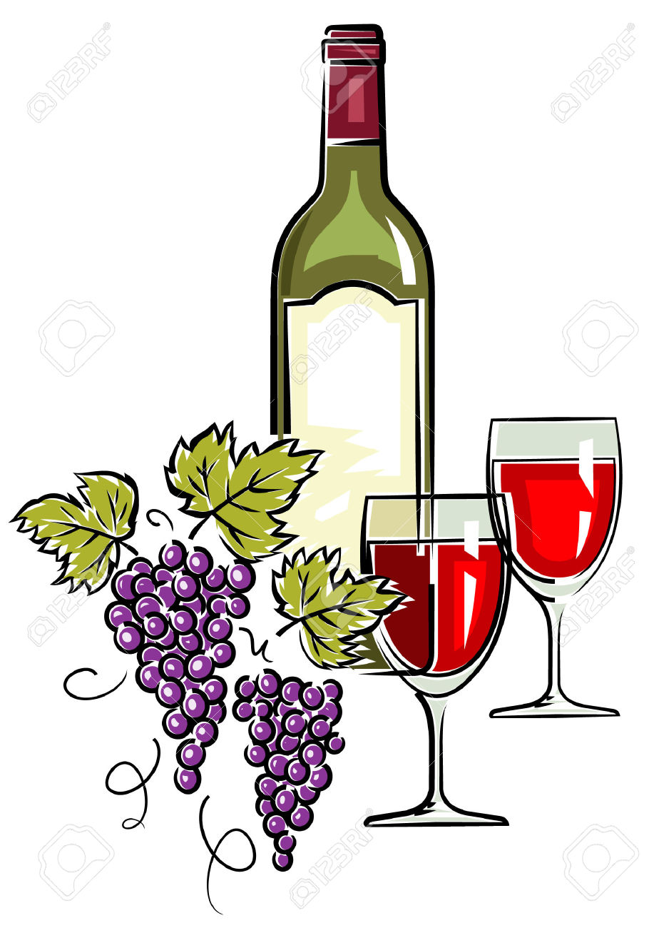 Clipart wein 6 » Clipart Station.