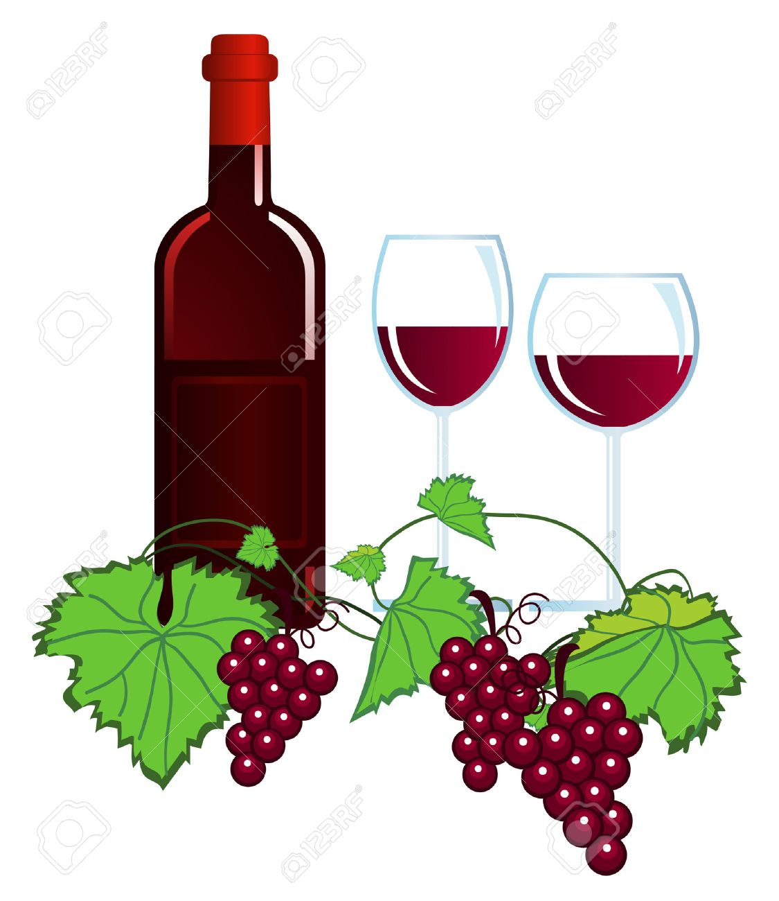 Clipart wein 1 » Clipart Station.