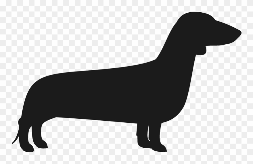 Dachshund Silhouette Png.