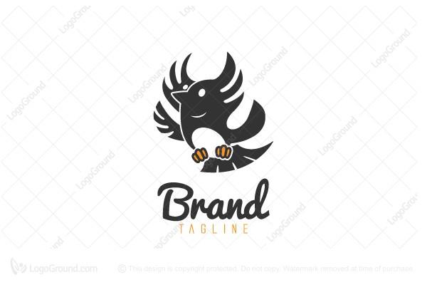 Exclusive Logo 73683, Weird Bird Logo.