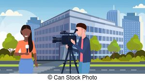 Correspondent Vector Clipart Illustrations. 1,114.