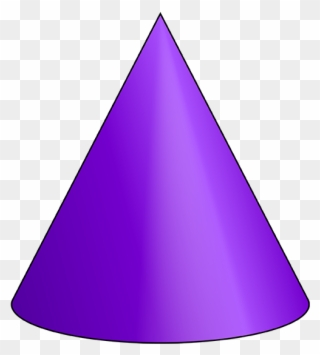 Cone 3 D Shape.
