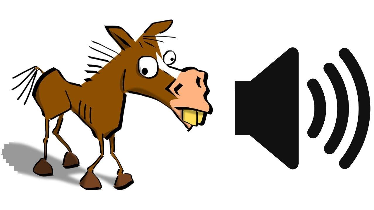 Funny Donkey Clipart.