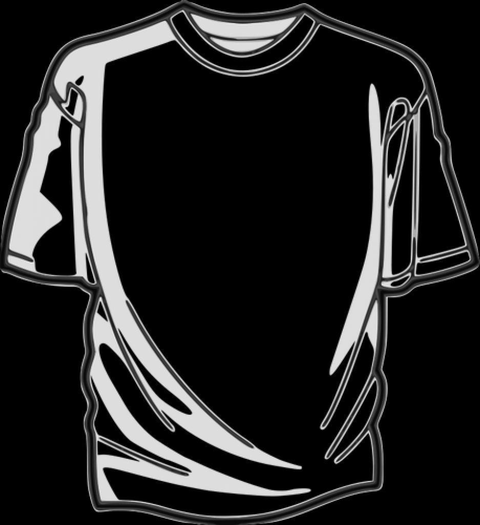 weies t shirt vektor bild public domain vektoren intended for.