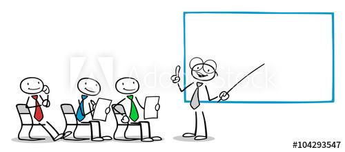Lehrer bei Business Weiterbildung.