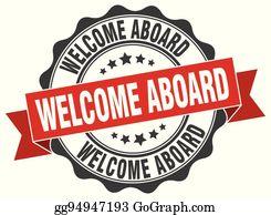 Welcome Aboard Clip Art.