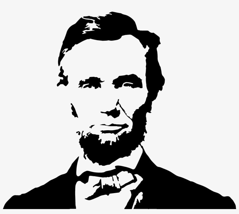Clip Library Download Abraham Lincoln Clipart Stencil.