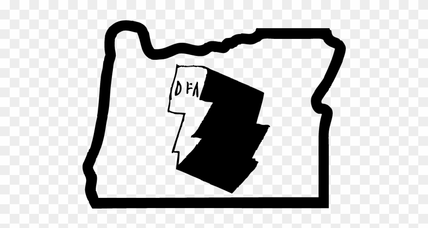 We Welcome Dfa Into Oregon With Our Open Arms Clipart.