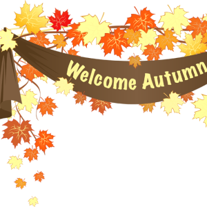 Welcome Autumn Clipart.