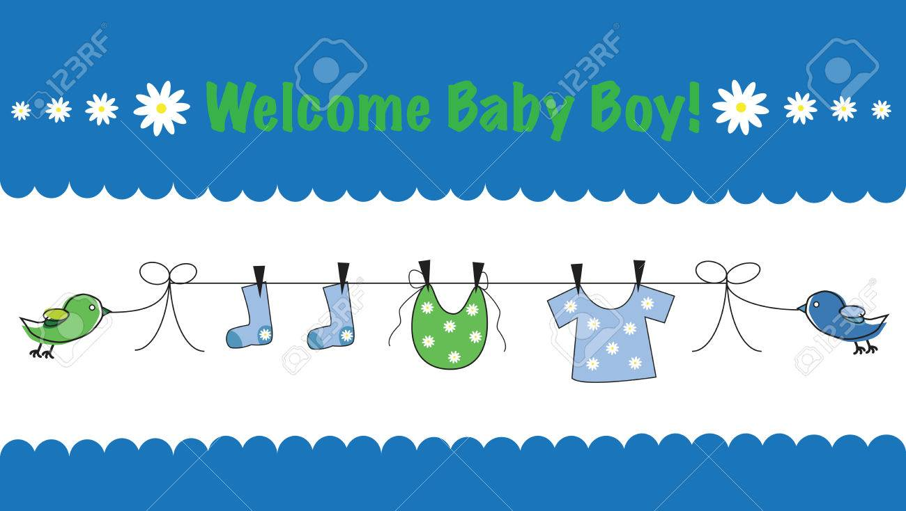 Welcome Baby Boy.