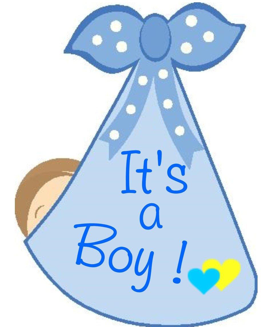 Amazon.com : Cute News It\'s a Boy Door Hanger.