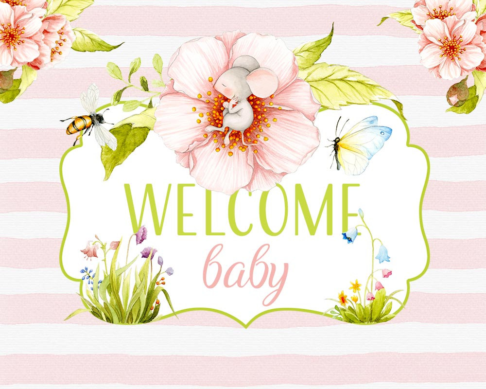 Welcome Baby clipart, Spring clipart, Baby clipart, Baby shower.