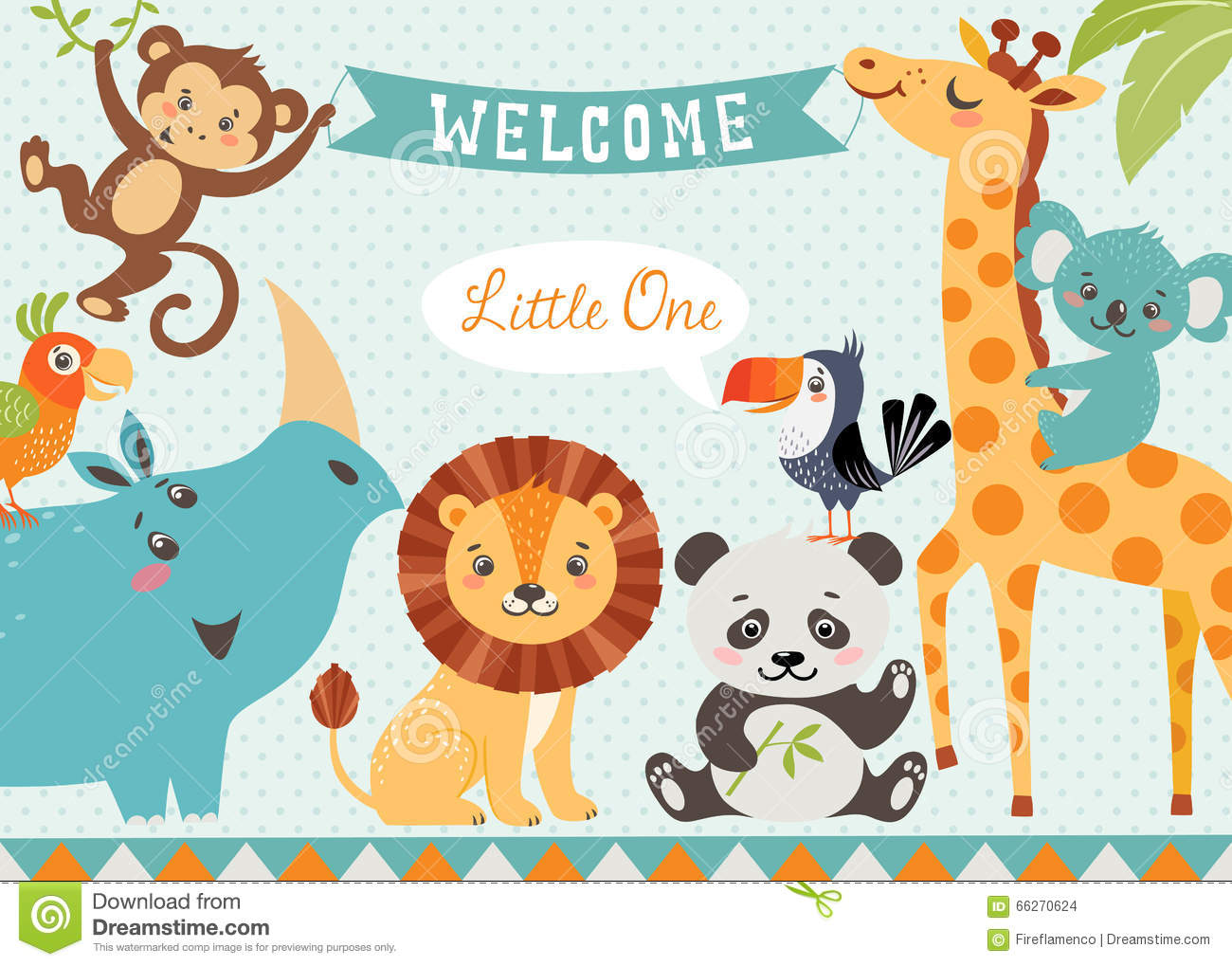 Welcome To The Jungle Clipart.