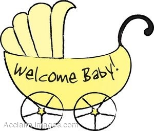 330 Baby Carriage free clipart.