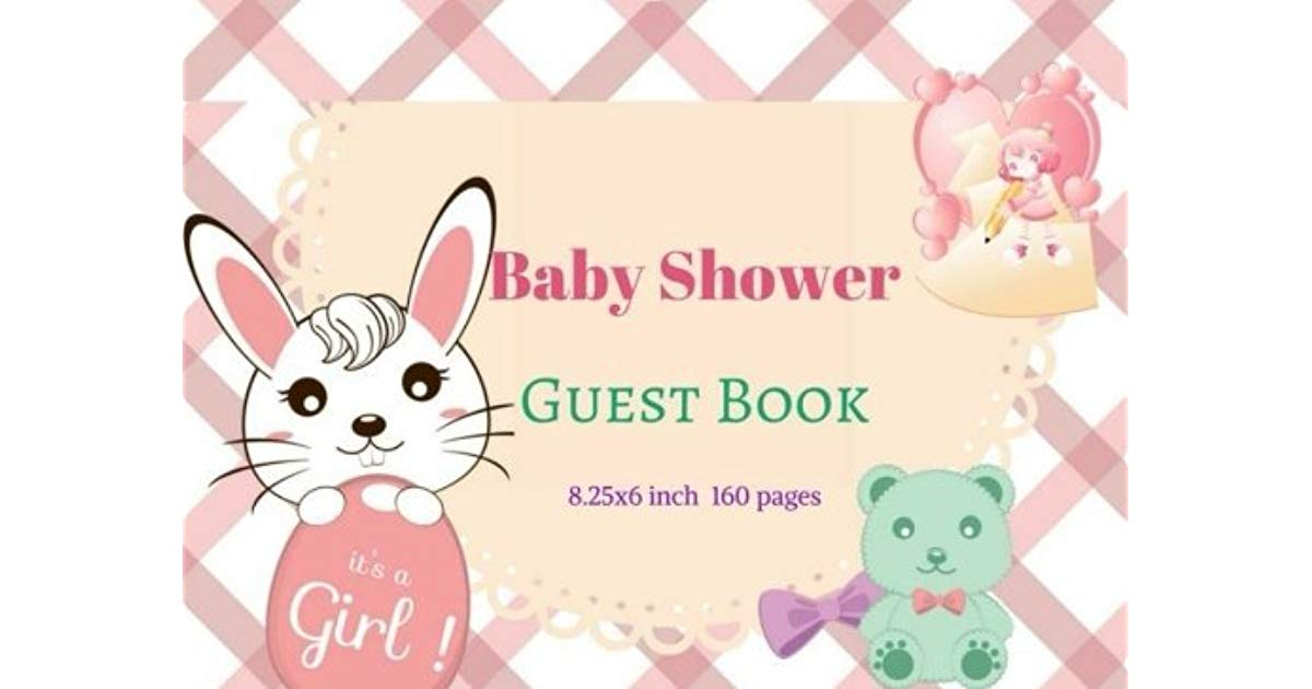 Baby Shower Guest Book : Modern Welcome Baby Message Book.