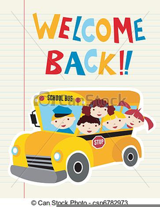 Welcome Back Clipart School.