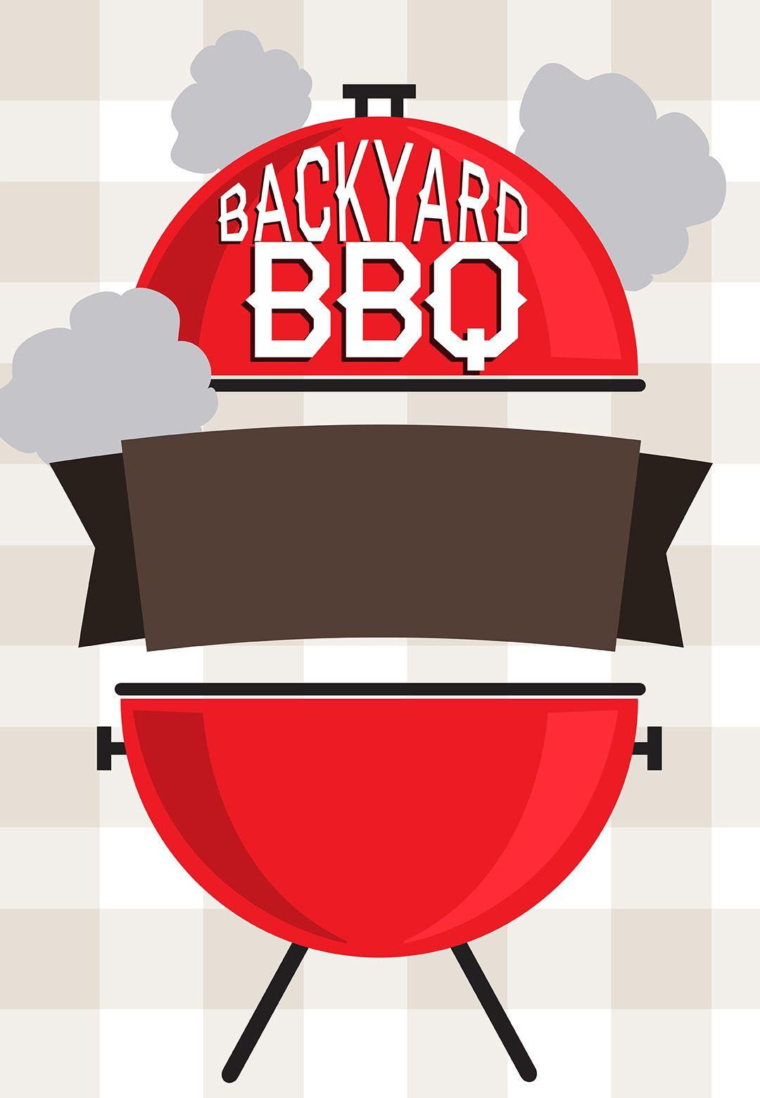 Backyard Bbq.