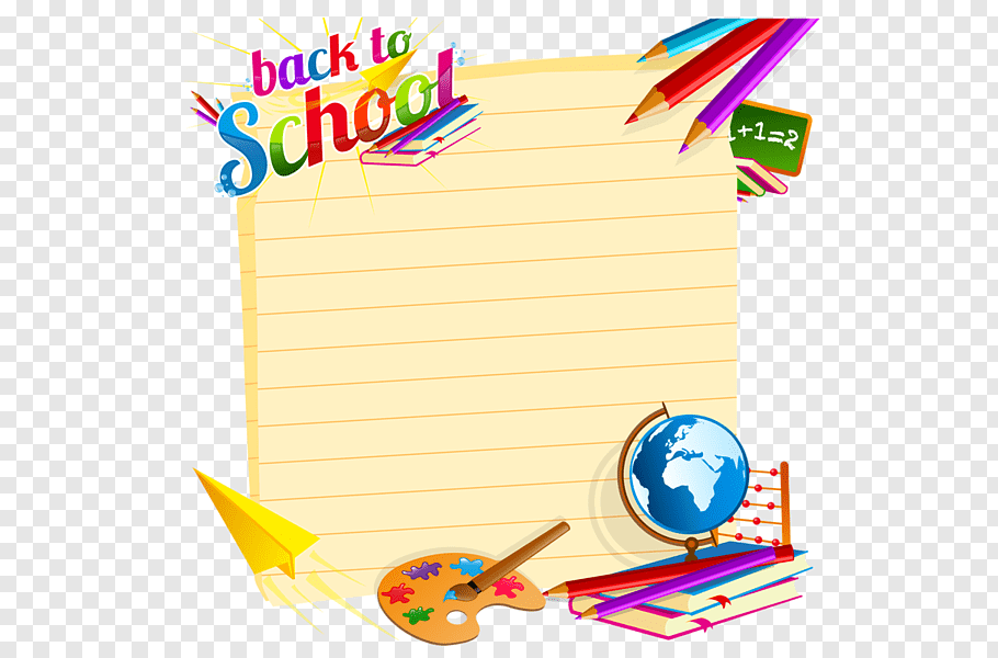 Back To School Paper Clip, Welcome Back, School Clipart.