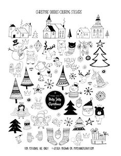656 Best FREE Christmas Printables images in 2019.