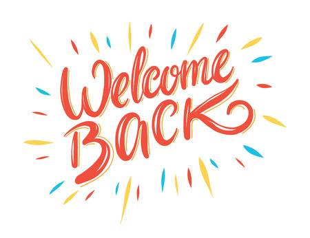 Welcome Back Free Download Clip Art.
