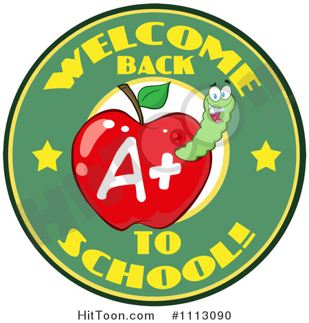 Welcome Back To School Clipart #1.