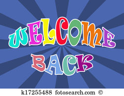 Welcome back Illustrations and Clipart. 332 welcome back royalty.