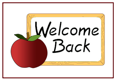 Free Welcome Back Clipart Pictures.