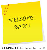 Welcome back Clip Art EPS Images. 3,686 welcome back clipart.