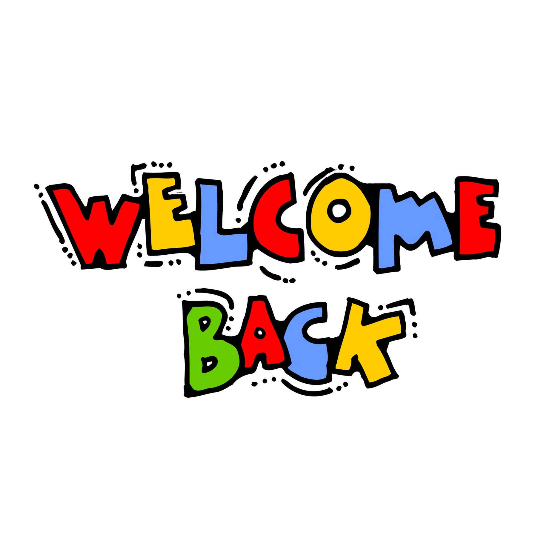 1054 Welcome Back free clipart.