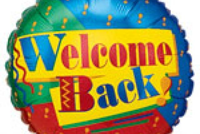 Welcome back to work clipart free.