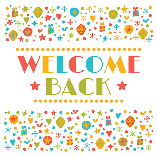 7068 Welcome free clipart.
