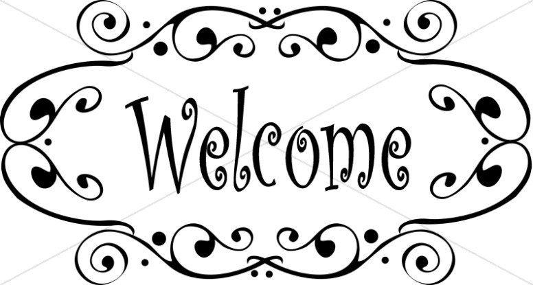 Fancy Welcome Image.